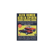 Unbranded Alfa Romeo Giulia Spider Owners Workshop Manual 1962-1978: This Is A Do It Ourse