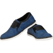 CK Shoes Canvas Shoes For Men(Blue)