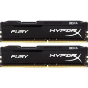 Memorija DIMM DDR4 2x16GB 2400MHz CL15 Kingston Fury Black, HX424C15FBK2/32