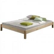 IDIMEX Lit futon TAIFUN, en pin massif, 120 x 200 cm, vernis naturel