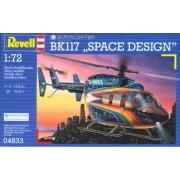 Revell of Germany Eurocopter BK 117 Space Design Plastic Model Kit