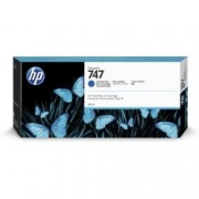 HP 747 300-ML CHRMTC BLUE INK CRTRG
