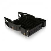 Adaptor Icy Dock MB990SP-B EZ-Fit Dual 2.5 to 3.5 SATA & IDE SSD / HDD Bracket, culoare neagra