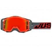Just1 Iris Óculos de proteção Preto Branco Vermelho único tamanho