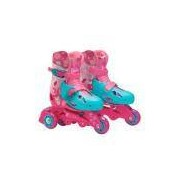 Barbie Patins 3 Rodas 29 A 32 Fun 7785-5-fun
