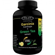 Sinew Nutrition Green Tea and Garcinia Cambogia Extract 700mg (60 Pure Veg Capsule)