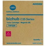Konica Minolta TNP22M - A0X5352 toner magenta