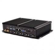 TSOON Technology Co.,Ltd Mini PC Industrial Windows 10 1037U/1007U 4 COM 2 Intel 82574L Nics I2, I2+4 COM+1007U, 4G RAM 128G SSD