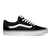Vans Sneakers Ward Suede Canvas Nero Bianco Uomo EUR 42,5 / US 9,5