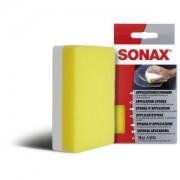 Sonax GmbH SONAX ApplikationsSchwamm, Spezialschwamm universell nutzbar in der Autowäsche /-pflege, 1 Schwamm, weiß/gelb