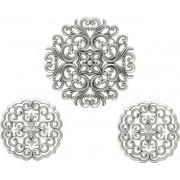 Decoratiuni pentru perete, Silver