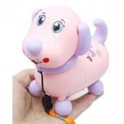 Emob Cute Electronic Walking Robot Puppy Pet Toy with Music and Light Features - MT-9907