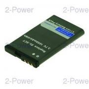 2-Power Mobiltelefon Batteri Nokia 3.7v 700mAh (BL-5CT)