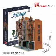 CubicFun Colectia Jigscape Casa de licitatii Puzzle 3D 93 de piese