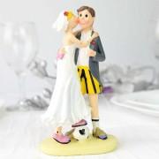 Figurina tort comica tematica fotbal cod DG813B