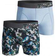 Björn Borg 2-Pack Shorts Camo - Blau S