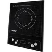 Maharaja Whiteline Uno 1400-Watts Induction Cooktop(Black, Push Button)