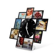 Ceas de birou - ceas personalizat cu mai multe imagini