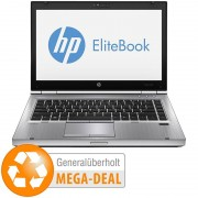 HP EliteBook 8470p, 35,6cmHD, Core i5, 8GB, 256GB SSD (generalüberholt)