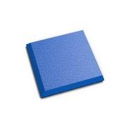 """Modrý vinylový plastový rohový nájezd """"typ C"""" Invisible 2038 (hadí kůže), Fortelock - délka 14,5 cm, šířka 14,5 cm a výška 0,67 cm"""