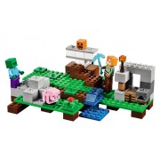 LEGO® Minecraft™ Golemul de fier - 21123