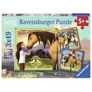Puzzle Spirit, 3x49 piese