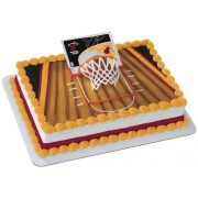 Miami Heat Slam Dunk Cake Topper