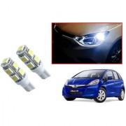 Auto Addict Car T10 9 SMD Headlight LED Bulb for Headlights Parking Light Number Plate Light Indicator Light For Honda Jazz