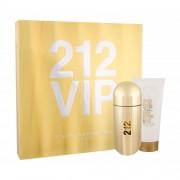 Carolina Herrera 212 VIP set cadou EDP 80 ml + Lapte de corp 100 ml pentru femei