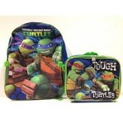 Nickelodeon Ninja Turtles Large Backpack with Lunch Bag Set-5010