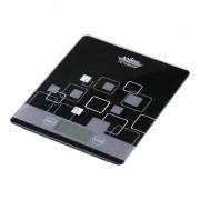 Cantar de bucatarie Peterhof, 5 kg, afisaj LCD, Negru