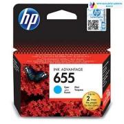 HP 655 cyán CZ110AE szines eredeti tintapatron