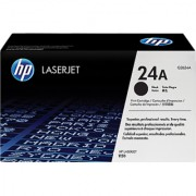 HP 24A LaserJet Q2624A Black Print Cartridge (Black)
