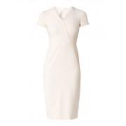 L.K.Bennett Eline kokerjurk met asymmetrische halslijn