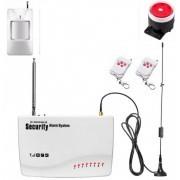IP-AP013-1D - безжична GSM аларма за дома с 1 датчикa за движение и 2 дистанционни