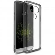 Husa LG G5 Ringke FUSION SMOKE BLACK + BONUS folie protectie display Ringke