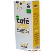 AlterNativa3 Kolumbia őrölt kávé, 100% Arabica kávé, Bio, Fair trade