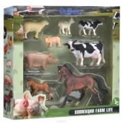 Set 8 figurine viata la ferma Collecta, 3 ani+