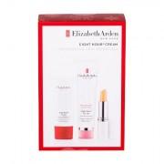 Elizabeth Arden Eight Hour Cream Skin Protectant confezione regalo cura per la pelle giorno 50 ml + cura idratante per le mani 30 ml + cura idratante per le labbra SPF15 3,7 g donna
