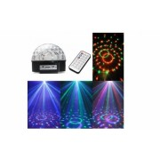 Glob Disco cu MP3 Player, boxe incorporate, cititor de stick USB