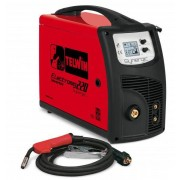 Aparat de sudura Telwin ELECTROMIG 220 SYNERGIC MIG-MAG/TIG/MMA 400V Rosu