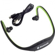 Samsung Galaxy Feel COMPATIBLE Bluetooth On-ear Sports Headset (with Micro Sd Card Slot and FM Radio)By GO SHOPS