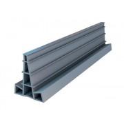 Listwa dylatacyjna PCV do betonu H=4cm L=2.5mb do wylewek betonowych - pakiet 20szt