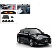 Auto Addict Car Black Reverse Parking Sensor With LED Display For Maruti Suzuki New Swift 2018