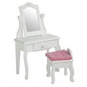 "Olivia's Little World Little Princess 18"""" Doll Furniture - Vanity Table and Stool Set"
