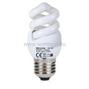Energiatakarékos izzó, spirál, 5W, E27, melegfehér