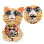 Peluche Con Cara Cambiable Feisty Pets E-Thinker FP002-Naranja
