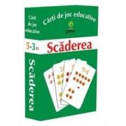 Carti de joc educative - Scaderea.
