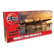 KIT CONSTRUCTIE AIRFIX AVION HANDLEY PAGE HALIFAX B MKIII (6008A)