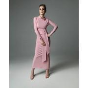 Sukienka Statue of Madnezz - dirty pink